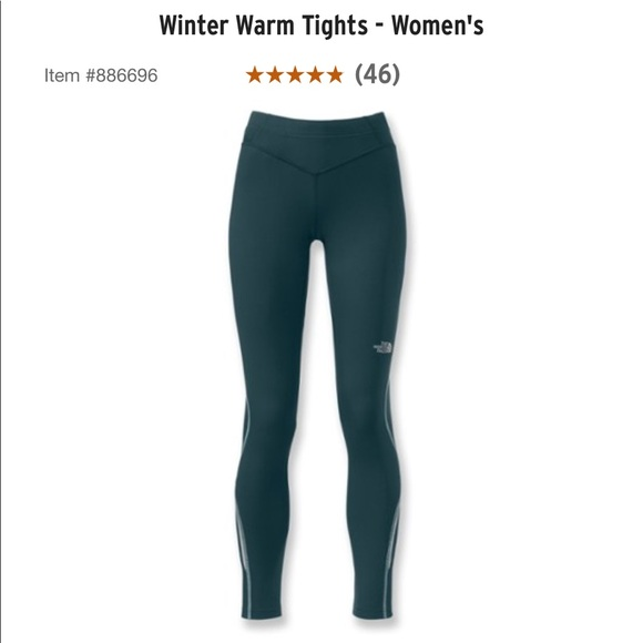 North Face Winter Warm tights cdc74867f